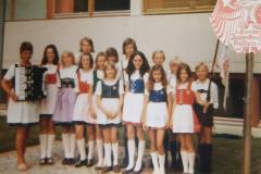 1973-07-11 1. Bundesjugendtreffen Kufstein, Jugendmannschaft
