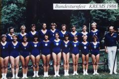 1986-07-09 7. Bundesturnfest Krems, Vereinswettturnen TI