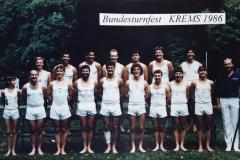 1986-07-09 7. Bundesturnfest Krems, Vereinswettturnen TU