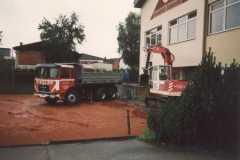 1995-08-29 Der Anbau beginnt