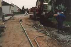 1995-08-30 Gemeindekanal wird umgepumt