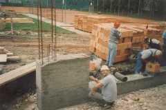 1995-09-09 Süd-Ost-Seite Kellergeschoss - Stutz