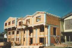 1995-10-24 Dachstuhl wird gehoben