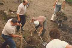 1987-09 Händischer Aushub