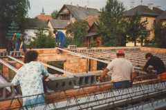 1987-09 Verlegung der Kellerdecke