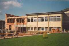 1987 Das Turnerheim wächst