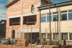 1987 Das Dach wird zugebrettert