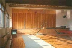 1988 Die neue Halle mit Bühne