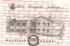 1977 Turnerheim-Baustein um 1.000 ÖS