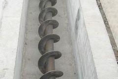 2006-10-21 Förderschnecke in den Lagerraum