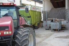 2006-10-31 Anlieferung der Hackschnitzel