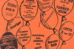 1989-01-28 Plakat 1. Neumarkter Ballnacht