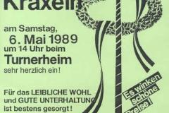 1989-05-06 Einladung Maibaumkraxeln
