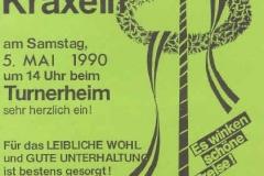 1990-05-05 Einladung Maibaumkraxeln