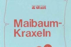 1990-05-05 Speisekarte Maibaumkraxeln