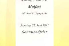 1991-04-05 Einladung Hauptversammlung