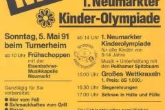 1991-05-05 Einladung Maifest mit Kinderolympiade