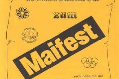 1991-05-05 Speisekarte Maifest