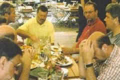 2002-05-18 Spielmannszug am Deutsches Turnfest Leipzig