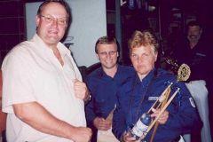 2003-05-08 Der Spielmannszug gratuliert