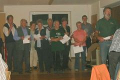 2004-10-02 Der Spielmannszug gratuliert