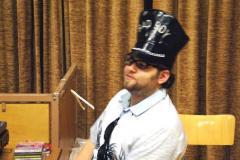 2009-02-07 DJ Raina in seinem Element