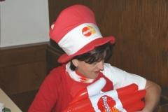 2009-02-07 Frau Obfrau bei der Vorbereitung