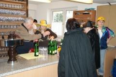 2009-02-07 Hochbetrieb in der Ausschank