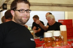 2009-09-11 Rainer mit vollem Elan dabei!