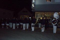 2009-12-02 Trotz Kälte sind viele Spielleute zu unserem Obmann-Stv. gekommen