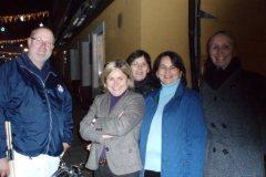 2009-12-02 Hier fühlt sich unser Obmann wohl
