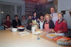 2009-12-05 Das heutige Küchenteam - natürlich mit Obmann