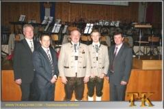 2009-12-12 35 Jahre bei der Trachtenkapelle Stabführer Wilflingseder Christian