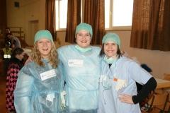 2010-02-06 Krankenschwestern Bianca, Karin und Doris