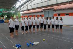2010-07-14 Damen bei der Vorstellung