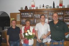 2010-07-28 Danke auch an unsere Anneliese für die Gesamtleitung und Gratulation