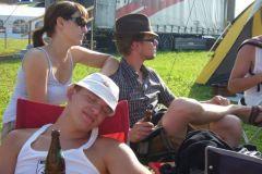 2010-08-12 Am Zeltplatz bei den 10-Kämpfern