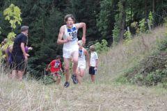 2010-08-12 Matthias beim Geländelauf