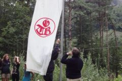 2010-09-01 Die ÖTB-Fahne wird gehisst
