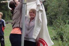 2010-09-01 Die Fahne wird eingeholt