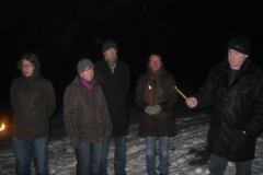 2010-12-21 Kurz vor dem Entzünden des Feuers
