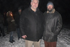 2010-12-21 Erstmals zur Gast bei uns Josef Übleis