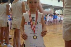 2011-04-02 Mit Medaille und Urkunde: Tobias