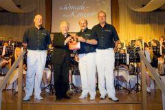 2011-05-14 Gastgeschenk von Ritterbräu für unseren LH
