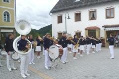 2011-06-23 Konzert beim Kirtag in Lunz am See