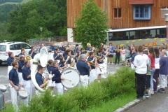2011-06-23 Dankeschön Konzert für die Mannschaft unseres Hotels