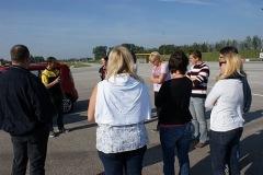 2011-09-24 Der Instruktor gibt die ersten Anweisungen