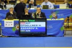 2011-11-10 Finalkampf nach einigen Stunden Warterei