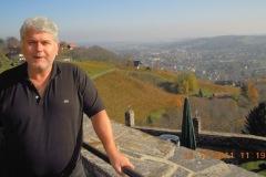 2011-11-10 Blick auf Deutschlandsberg auf der Heimfahrt