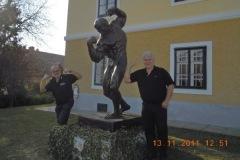2011-11-10 Besuch des Schwarzenegger Museums in Thal bei Graz